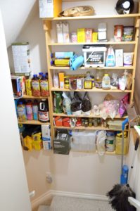 Pantry in the Stairwell